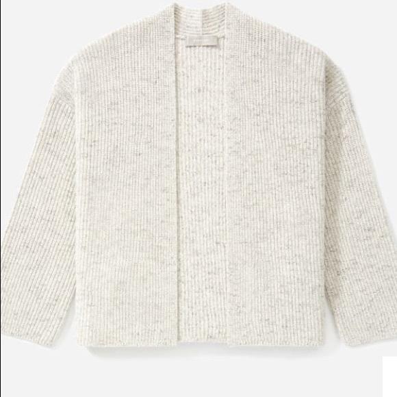 Everlane Sweaters Everlane The Twisted Merino Cardigan Poshmark